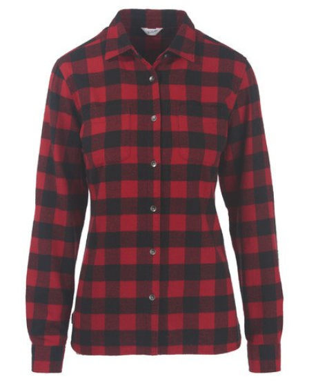 Woolrich Pemberton Flannel Shirt - Camping outfit