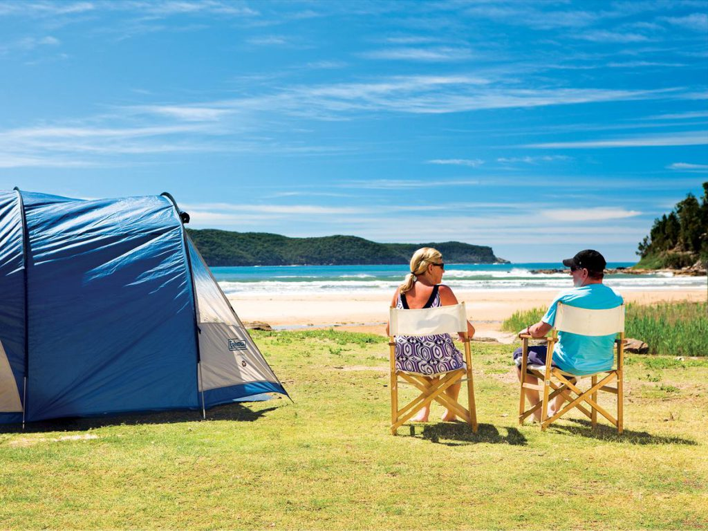 NRMA Ocean Beach Holiday Resort campsite