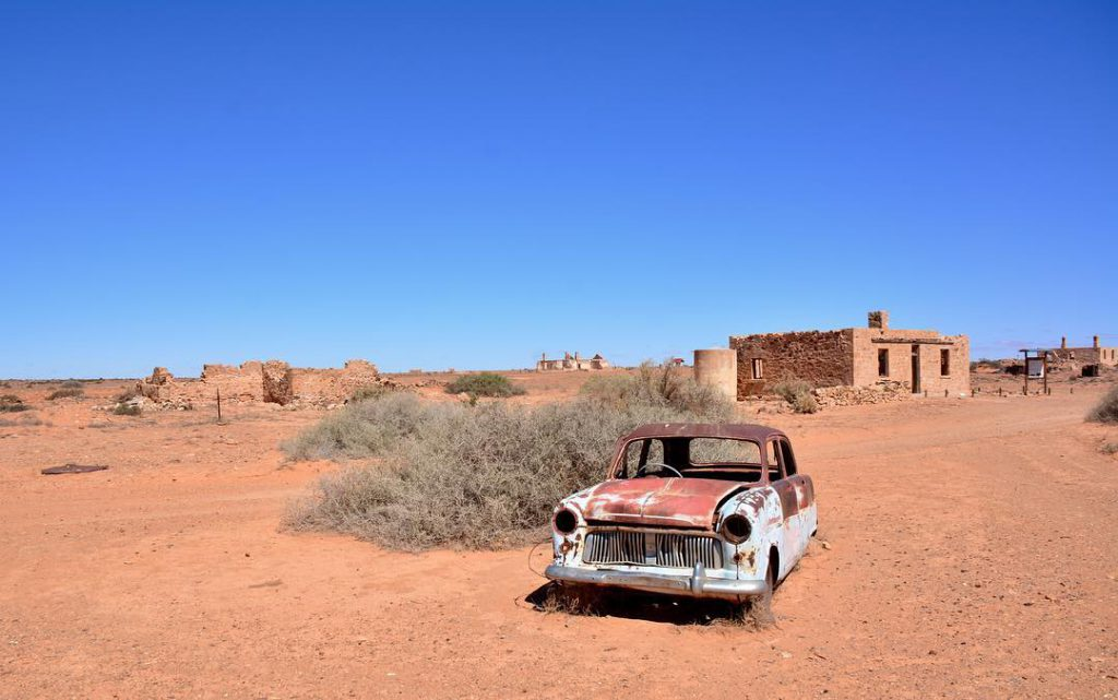 Farina Ghost Town South Australia